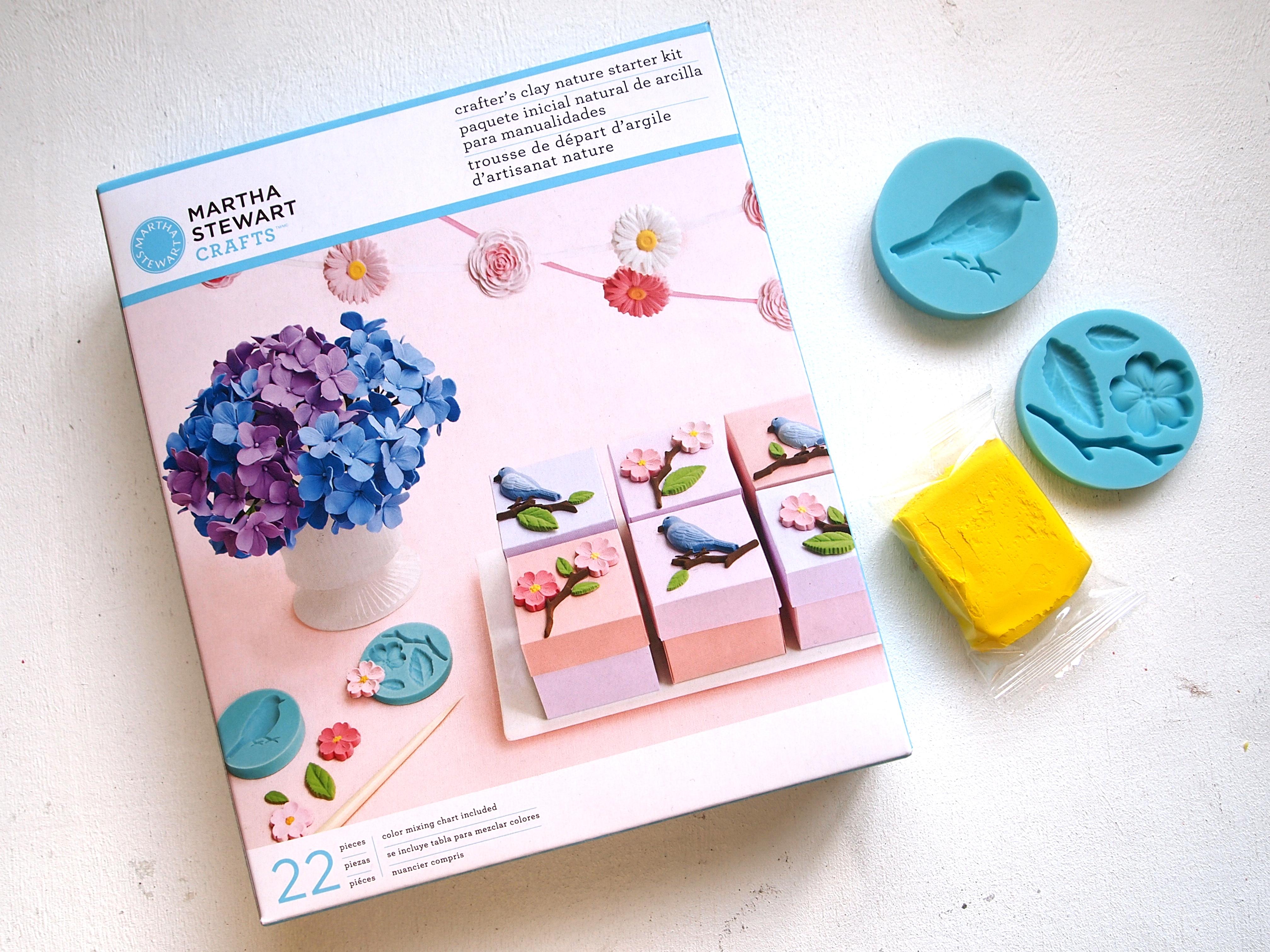 GIVEAWAY: Martha Stewart Crafts DIY Clay Branch Necklace ...
