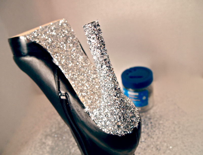 How To Seal Glitter On Leather Shoes