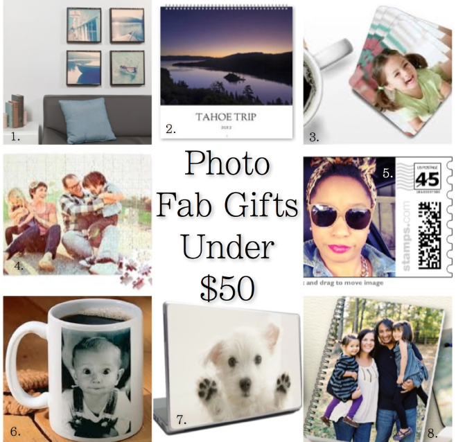 Fab Photo Gifts for Under $50