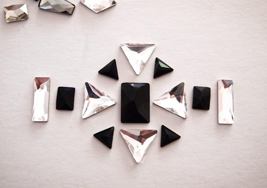 Glitter N Glue DIY Swarovski Crystal Cuff DESIGN