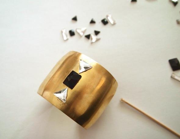 Glitter N Glue DIY Swarovski Crystal Cuff  SET