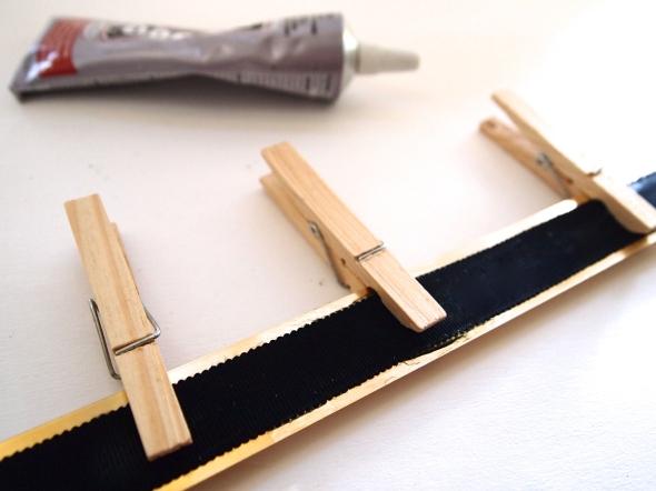 DIY: Glitter N Glue Skinny Metal Metallic Belt