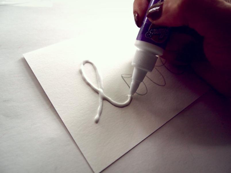Glitter N Glue DIY Sequin Valentines Cards GLUE
