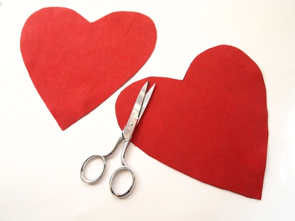 Glitter N Glue DIY Sequin Heart Shaped Valentine's Purse CUT