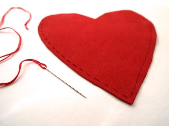 Glitter N Glue DIY Sequin Heart Shaped Valentine's Purse SEW