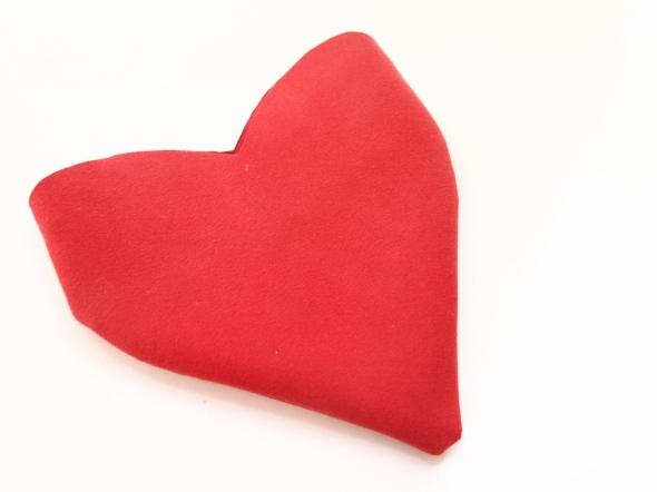 Glitter N Glue DIY Sequin Heart Shaped Valentine's Purse FLIP