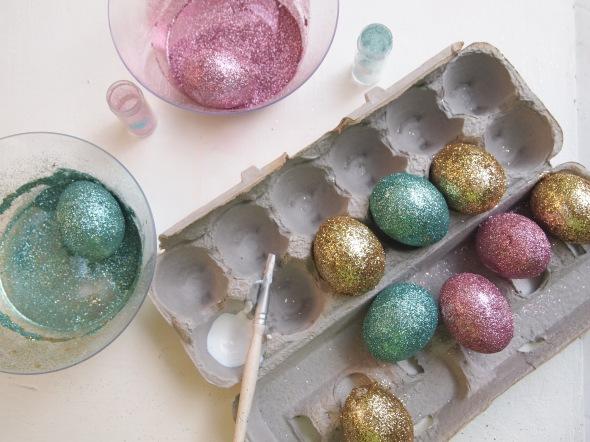 Glitter N Glue DIY Glitter Easter Egg  FULL GLITZ