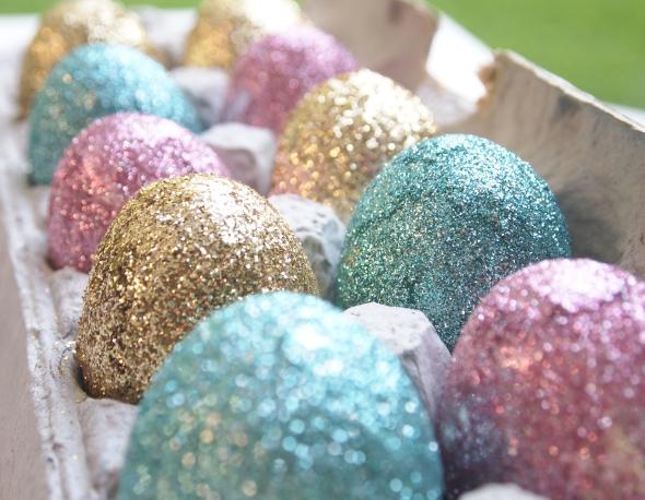 Glitter N Glue DIY Glitter Easter Egg GLITZ
