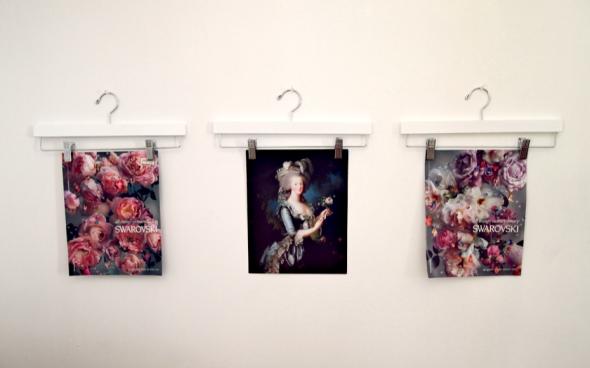 Glitter N Glue DIY Clothing Hangers As Fremless Wall Art Display