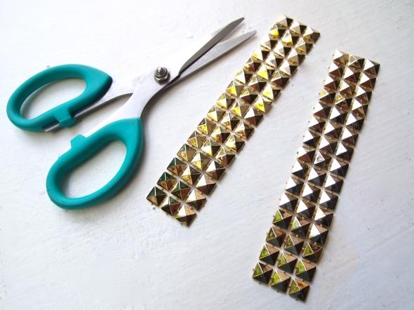 Glitter N Glue DIY Sole Society Julianne Hough Stud Embellishment Pump CUT