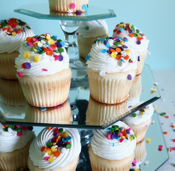 Glitter N Glue DIY Espelhado Cupcake suporte DETALHE