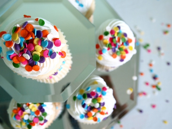 Glitter N Glue DIY Espelhado Cupcake suporte CUPCAKES