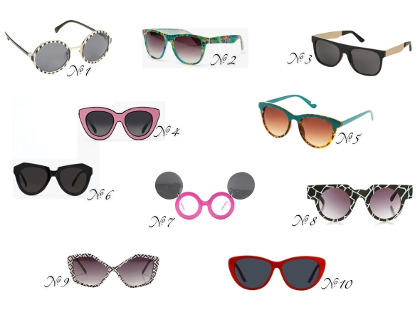 Glitter N Glue Summer Sunnies Under $50 Fashion Friday