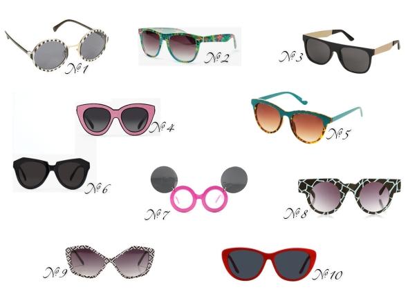 Glitter N Glue Summer Sunnies Under $50 Fashion Friday