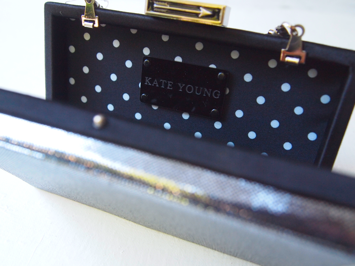 Glitter 'N Glue DIY Jeweled Embellished Clutch KATE YOUNG TARGET