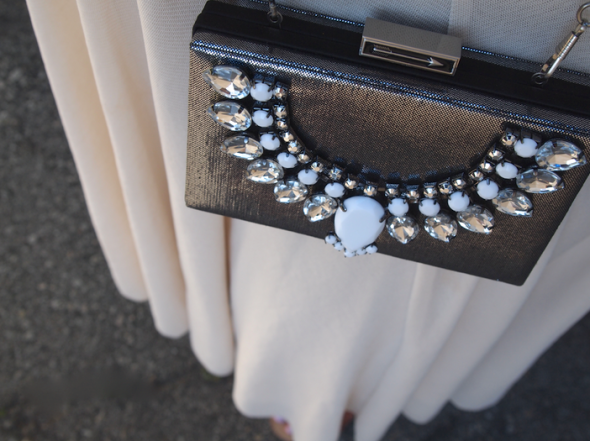 Glitter 'N Glue DIY Jeweled Embellished Clutch