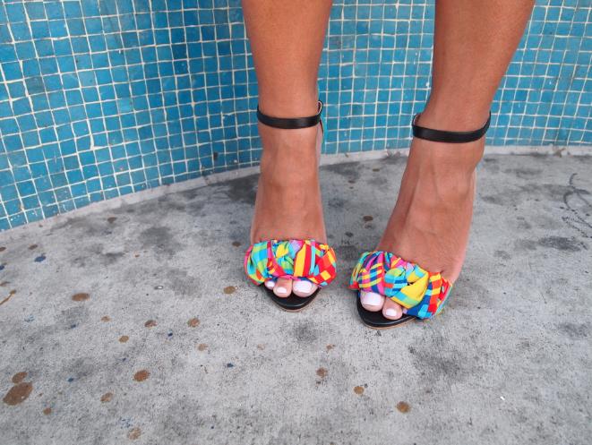 Glitter N Glue Wrap Sandal