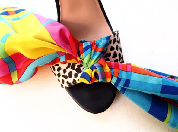 Glitter N Glue DIY Wrap Sandal KNOT