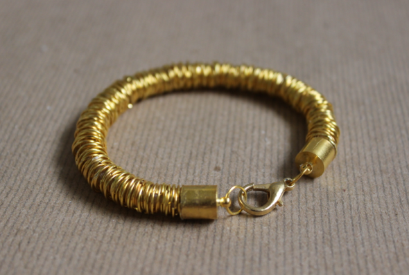 DIY Jump Ring Bracelet Glitter N Glue