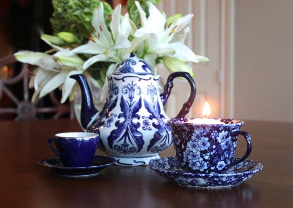 Edinburgh Scotland Tea Time Teacup Candle DIY Insporation