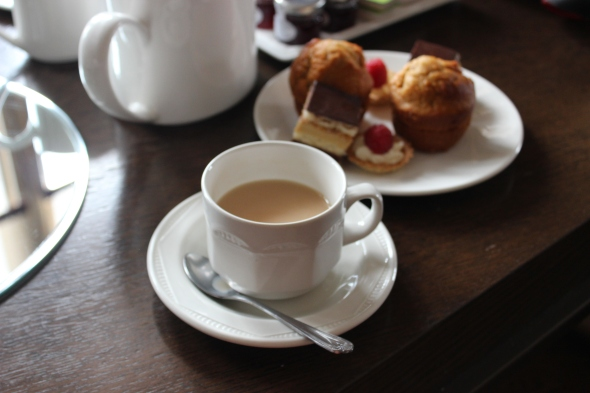 Edinburgh Scotland Tea Time 2