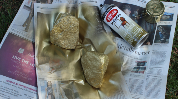 Gold Nugget DIY