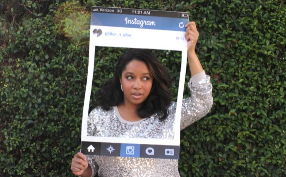 Instagram DIY Halloween Costume Glitter N Glue FULL