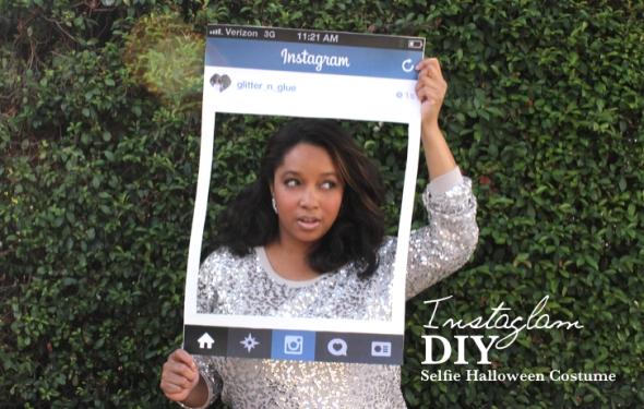 Instagram DIY Halloween Costume Glitter N Glue