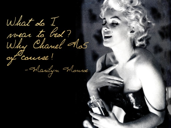 marilyn-monroe-chanel-no-5 GlitterNGlue