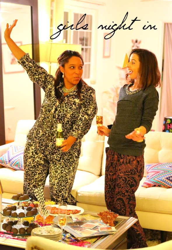 How To Kiki Girls Night In Miss Kris Kelly  Golightly Girls Night In Kiki