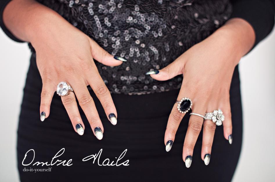 Diy ombre glitter nails diy ombre glitter nails solutioingenieria Images