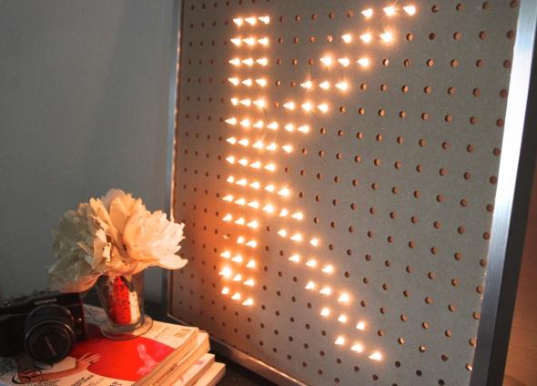 Miss Kris Light Letter Glitter N Glue DIY FULL 2
