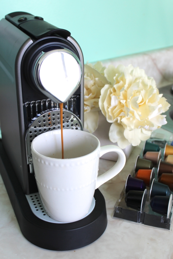 Nespresso Coffe Machine Glitter N Glue Giveaway