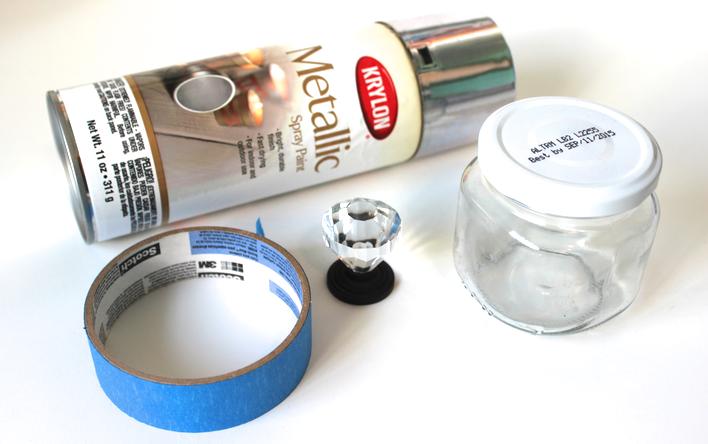 Recycled Beauty: DIY Door Knob Beauty Jars |