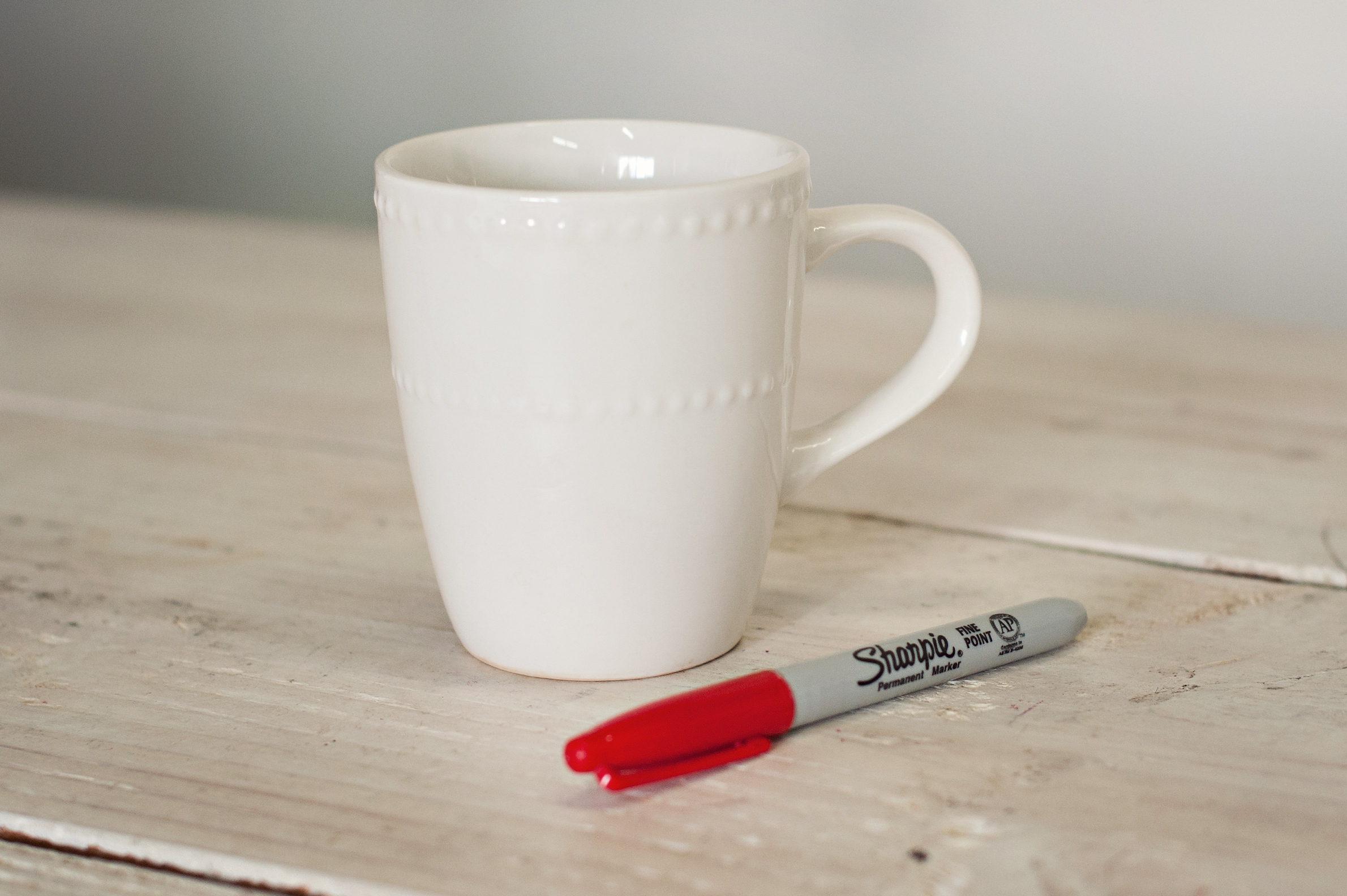 Miss Kris Sharpie Lips Mug Valentines Glitter N Glue MUG SHARPIE