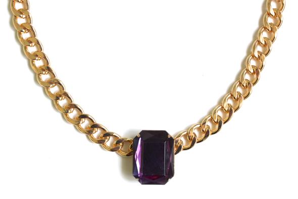 Miss Kris Chunky Jewel Necklace DIY 3
