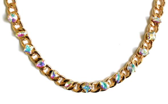 Miss Kris Chunky Jewel Necklace DIY 4
