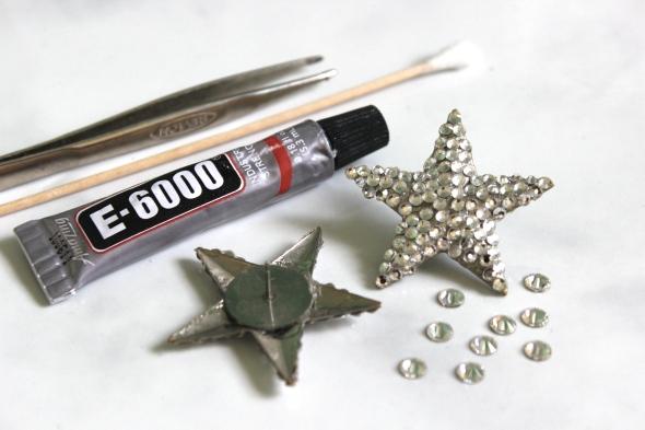 Miss Kris Jem And The Holograms Crystal Star Earrings DIY 2