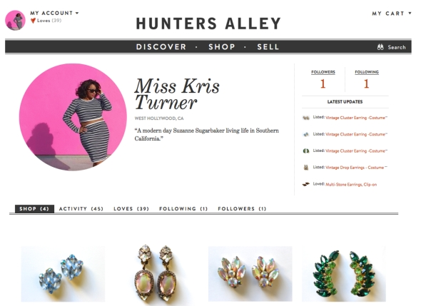Miss Kris Hunters Alley