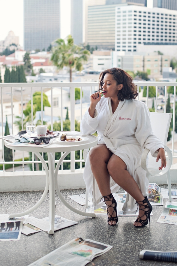 Miss Kris Beverly Hilton Los Angeles Staycation 13