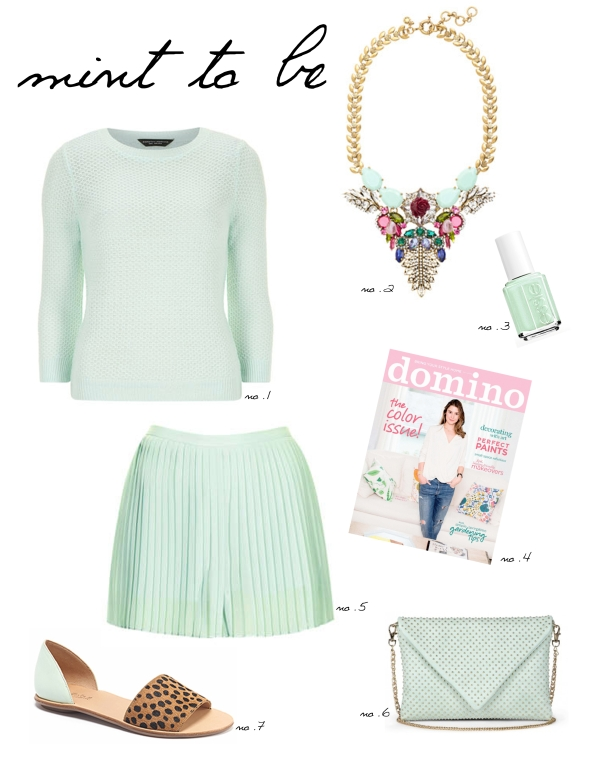 Miss Kris Mint To Be - Mint Color For Spring