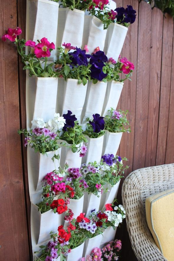 Miss Kris Shoe Organizer Hanging Garden DIY YouTube 2