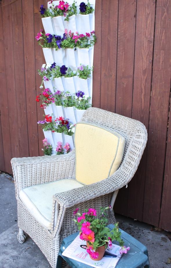 Miss Kris Shoe Organizer Hanging Garden DIY YouTube 3