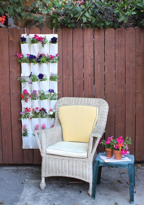 Miss Kris Shoe Organizer Hanging Garden DIY YouTube