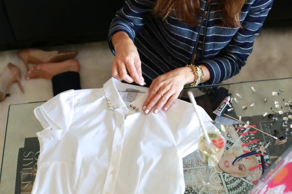 Miss Kris Sydne Summer Embellished Collar DIY 7