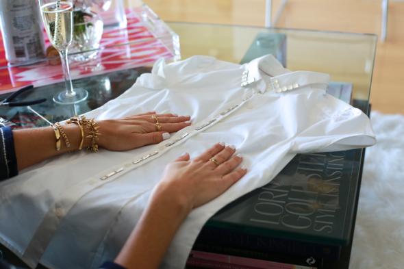 Miss Kris Sydne Summer Embellished Collar DIY 9
