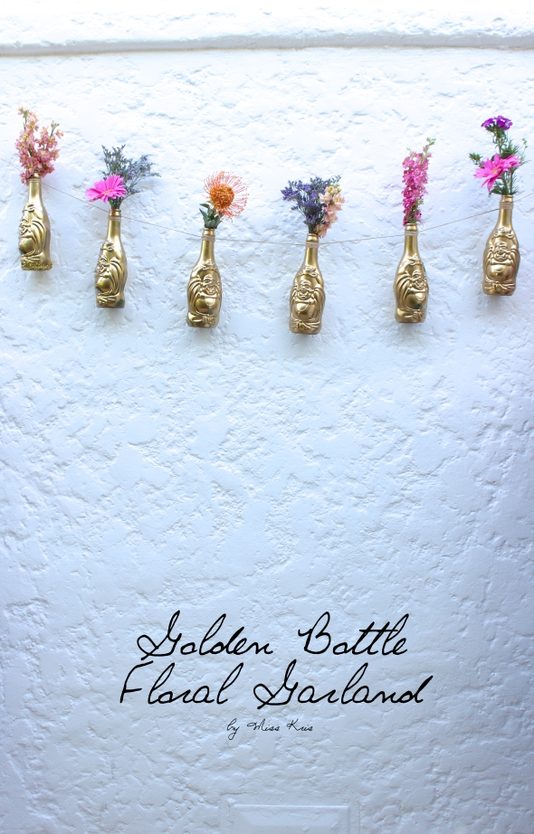 Miss Kris Lucky Buddah Beer DIY Bottle Garland