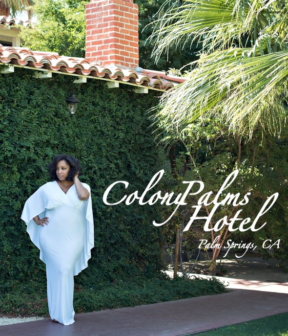 Miss Kris and the Colony Palms Hotel