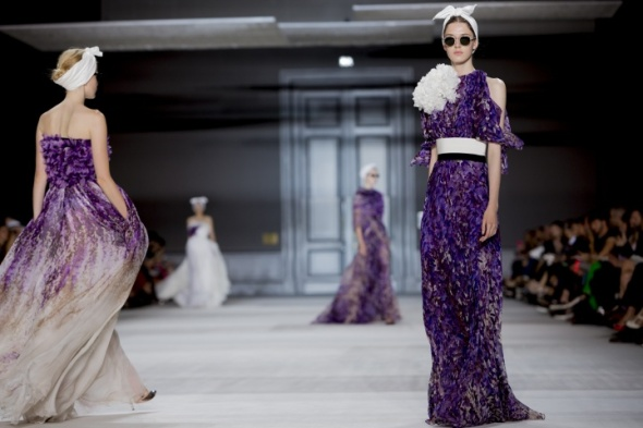 Miss Kris Giambattista Valli Fall 2014 - 12