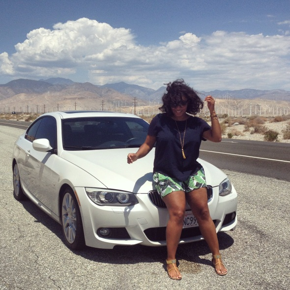 Miss Kris Road Trip Travel Palm Springs California